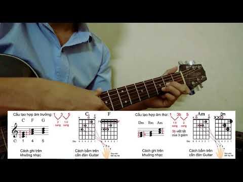 Cấu tạo hợp âm trưởng, thứ - Nhạc lý quan trọng để bắt tone, soạn intro | Đệm hát nâng cao #4