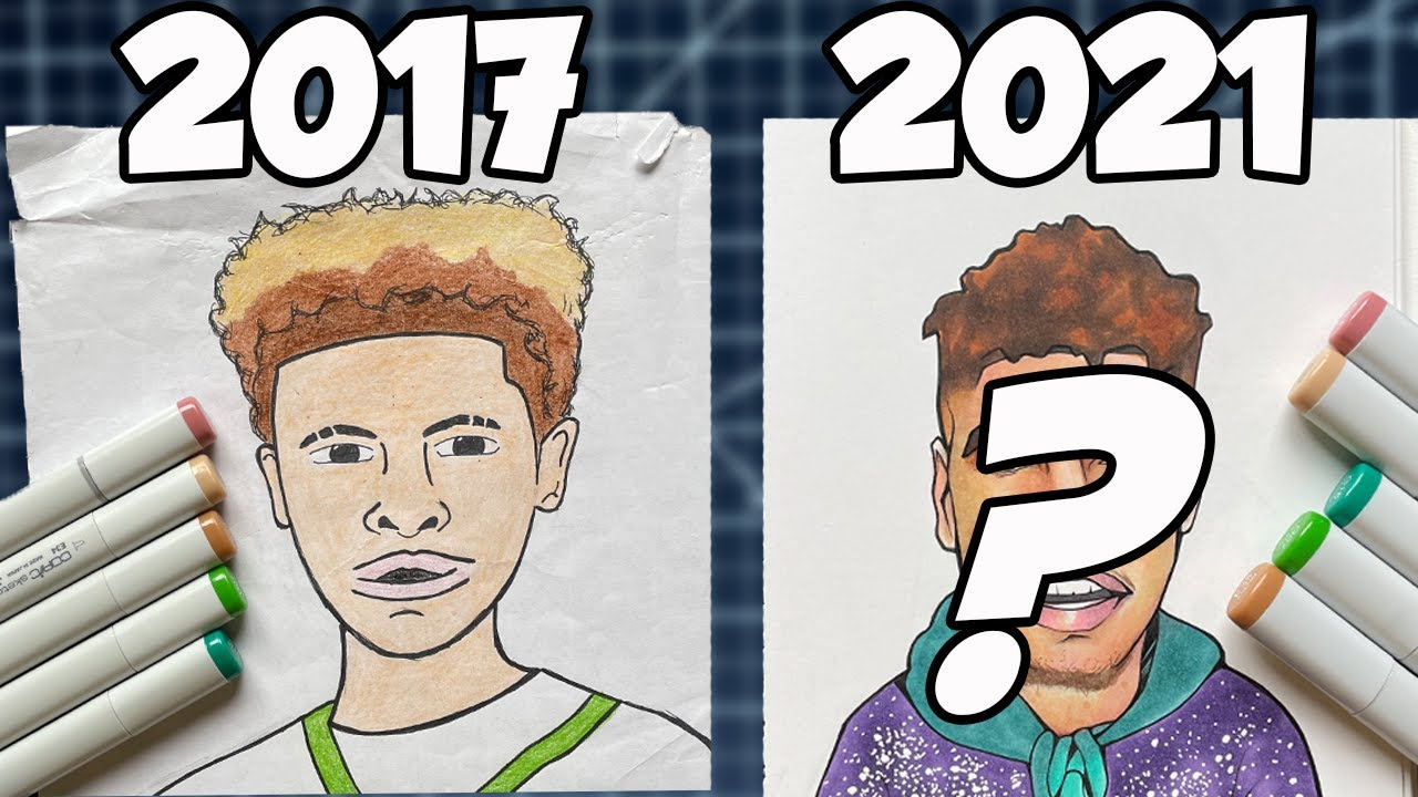 Redrawing Old Art- Did I Get Better Or No Sir?