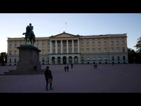 OSLO, Royal Palace (settembre 2015)
