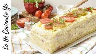 Receta de Pastel de Atún con Pan de Molde | MUY FÁCIL | LHCY