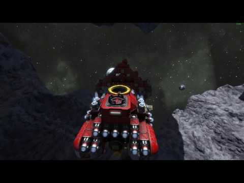 Space Engineers 1-7: Building a drill ship