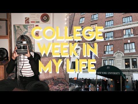 college week in my life | nyu first week of classes 2018