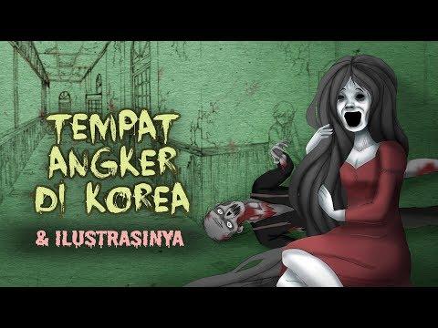 tempat-angker-berhantu-di-korea-&-ilustrasinya- -cerita-misteri-horor-&-kartun-hantu-#horortime