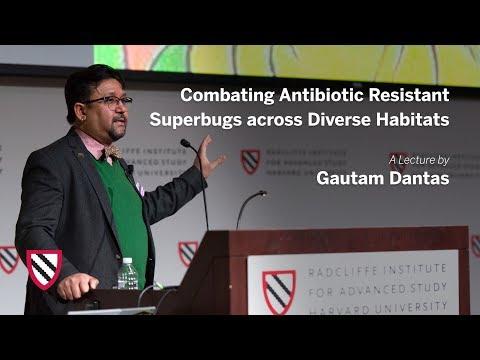 Combating Antibiotic Resistant Superbugs   Gautam Dantas    Radcliffe Institute