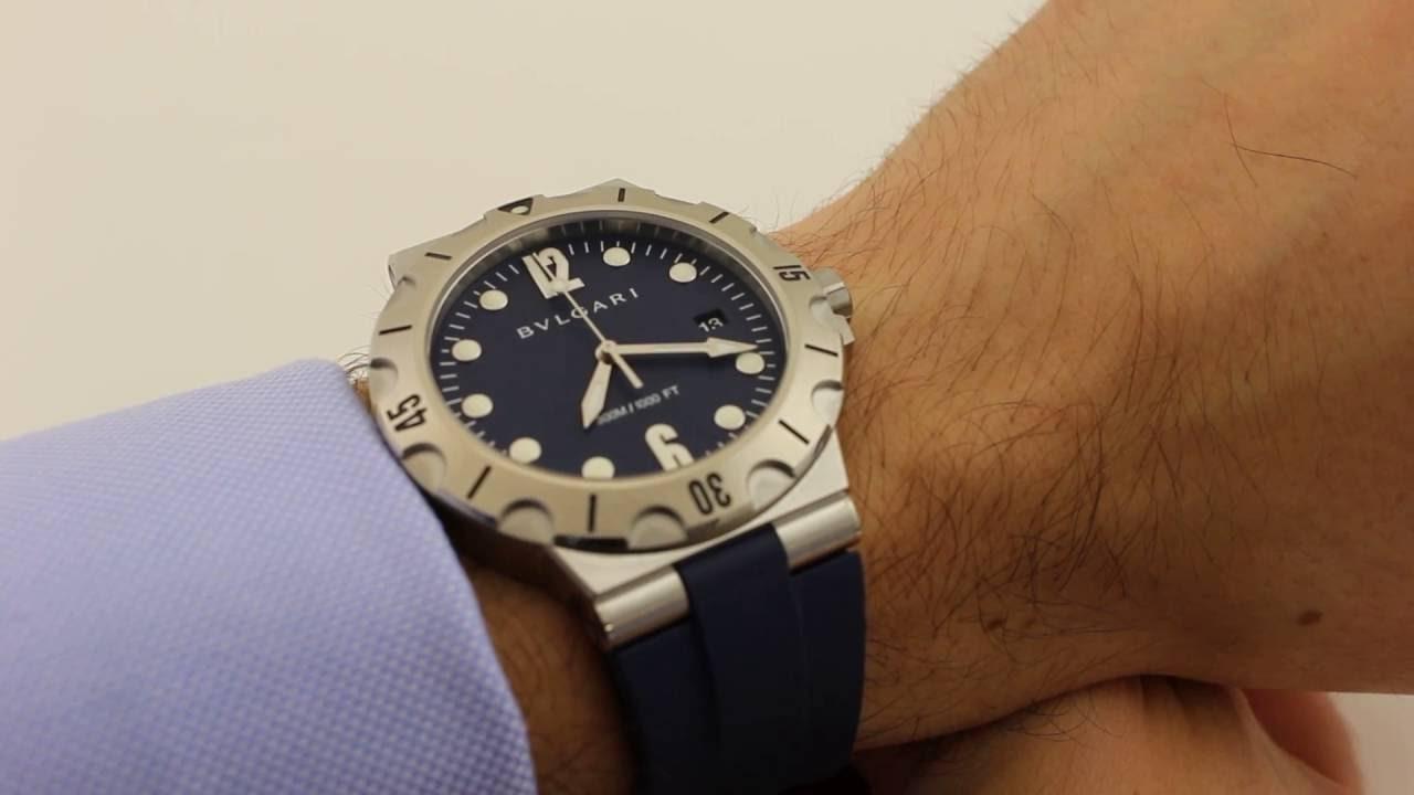c6f8a176769 Bulgari Diagono Scuba 102504 Luxury Watch Review - YouTube