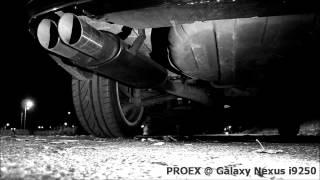 Tłumik końcowy PROEX (BMW E46 323i)