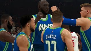 NBA 2K20 Tacko Fall My Career - HISTORIC 25-25-25 STATLINE!