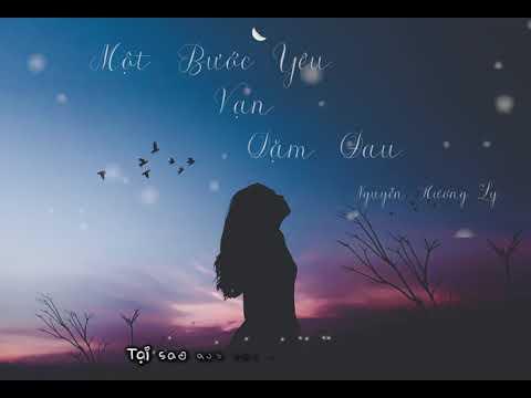 Một Bước Yêu Vạn Dặm Đau   Hương Ly Cover   Video Lyrics