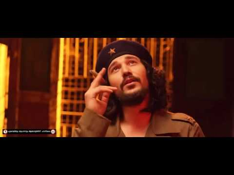 CIA  Library Scene - Dulquer with Karl Marx, Lenin & Che Guevara