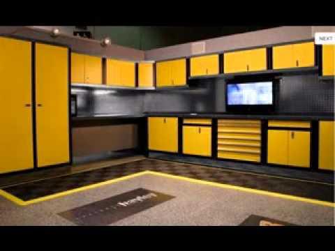 Garage storage ideas diy - YouTube