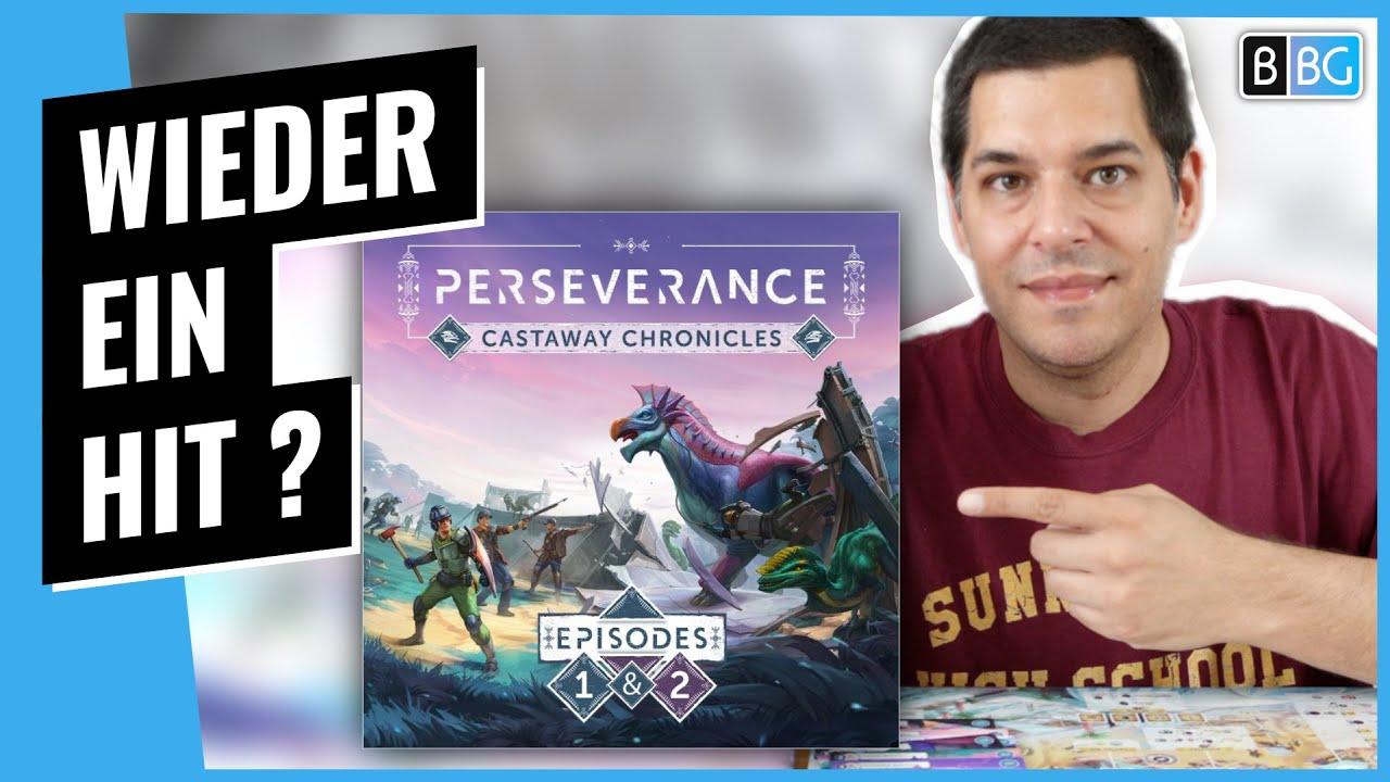 Perseverance 🦕 Der nächste Mindclash Kracher? Kickstarter Preview [Brettspiel]