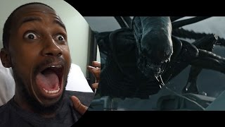 REACTION: Alien: Covenant | Official Trailer [HD] | 20th Century FOX