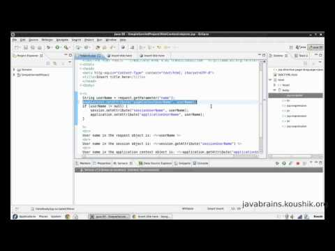 jsps-and-servlets-tutorial-13---scopes-in-jsp-and-the-pagecontext-object