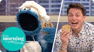 The Cookie Monster and John Barrowman Cause Havoc in the Kitchen | This Morning