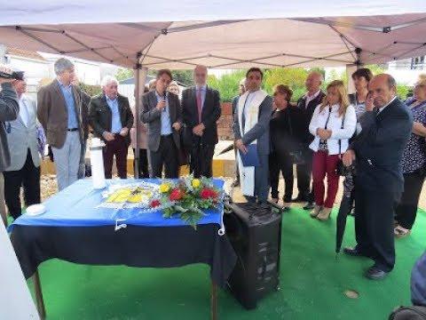 Ampliação do Cemitério de Lanheses - A Primeira Pedra