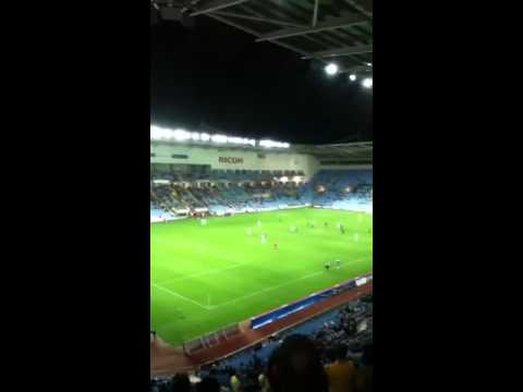 Coventry fans ripping into marlon king against Birmingham!