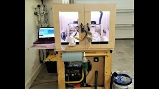 CNC Router Enclosure Prototype #1