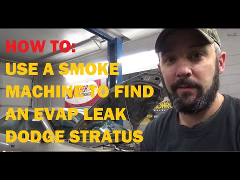 Finding EVAP Leak Using Smoke Machine - Dodge Stratus