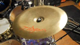 "Zildjian 16"" Oriental China 'Trash' Cymbal - Demo"