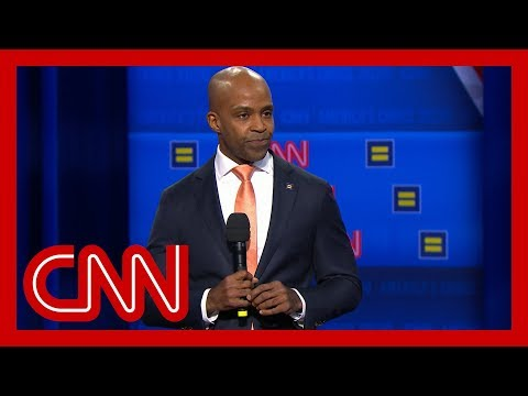 Human Rights Campaign President speaks before CNN town hall