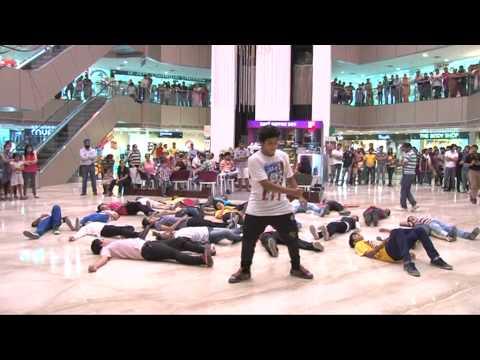 Flash Mob at Crossroads Mall Dehradun