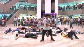 Flash Mob at Crossroads Mall Dehradun