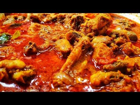 స్పైసీ చికెన్ కర్రీ   spicy chicken curry   విమల వంటిల్లు .