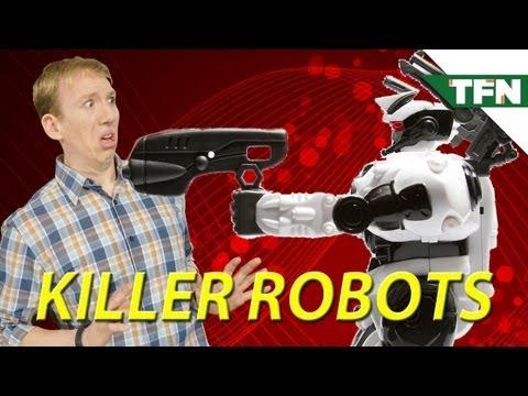 Attack of The Autonomous Killer Robots?!