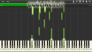 Undertale - For the Fans Theme Piano Tutorial Synthesia