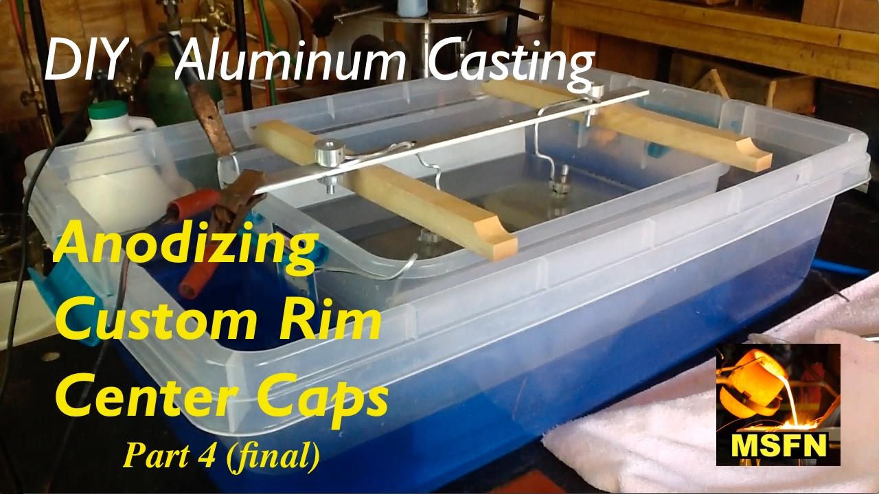 diy aluminum casting custom rim center caps p4 final msfn