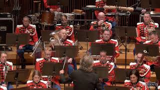 """DE MEIJ Symphony No. 1, The Lord of the Rings: Mvt. 5 - """"The President's Own"""" U.S. Marine Band"""