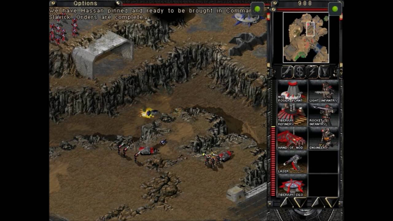 Command and Conquer Tiberian Sun Nod Speedrun Full campaign
