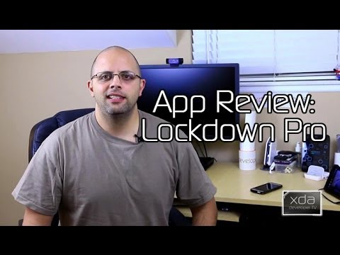 Lock it Down with Lockdown Pro -- Android App Review