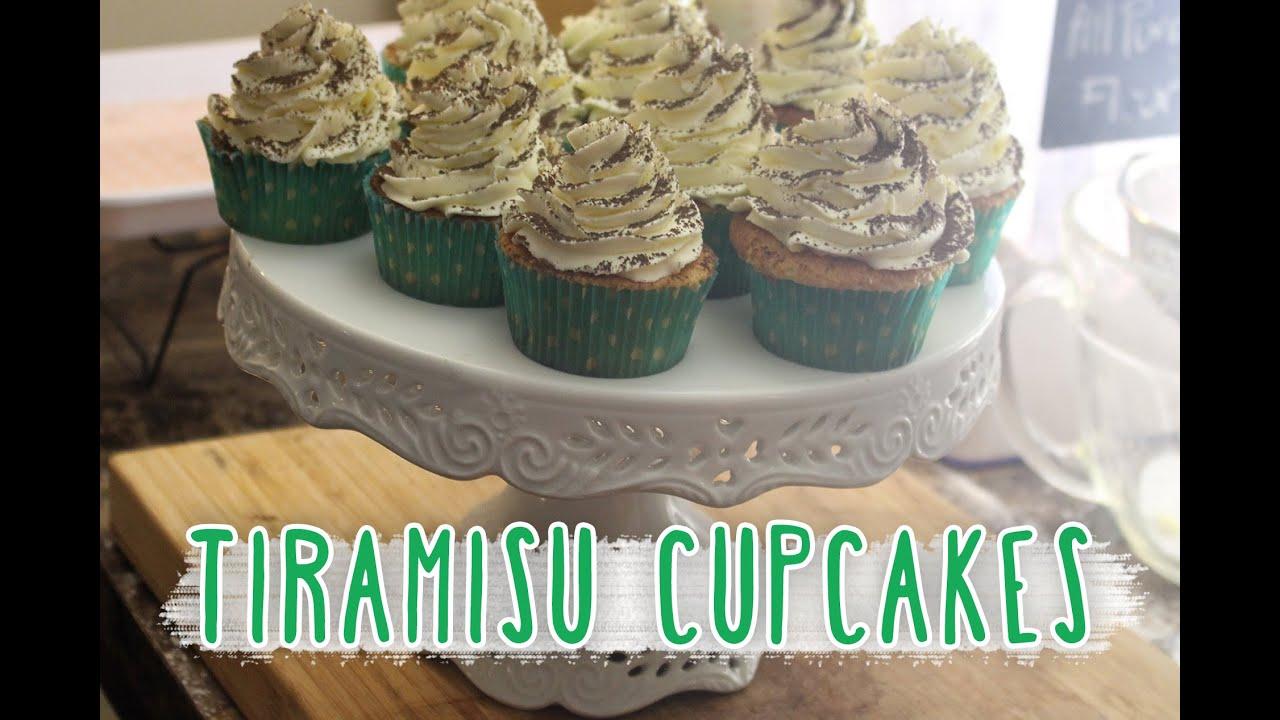 Tiramisu cupcakes - with mascarpone whipped frosting - YouTubeTiramisu Cupcakes With Mascarpone Cream