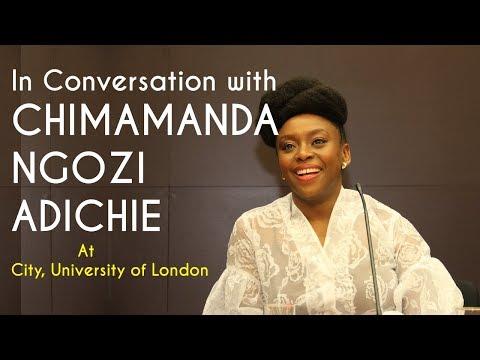 Chimamanda Adichie In Conversation at City, University of London