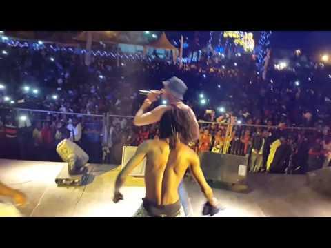Eddy Kenzo Performance in Douala Cameroun