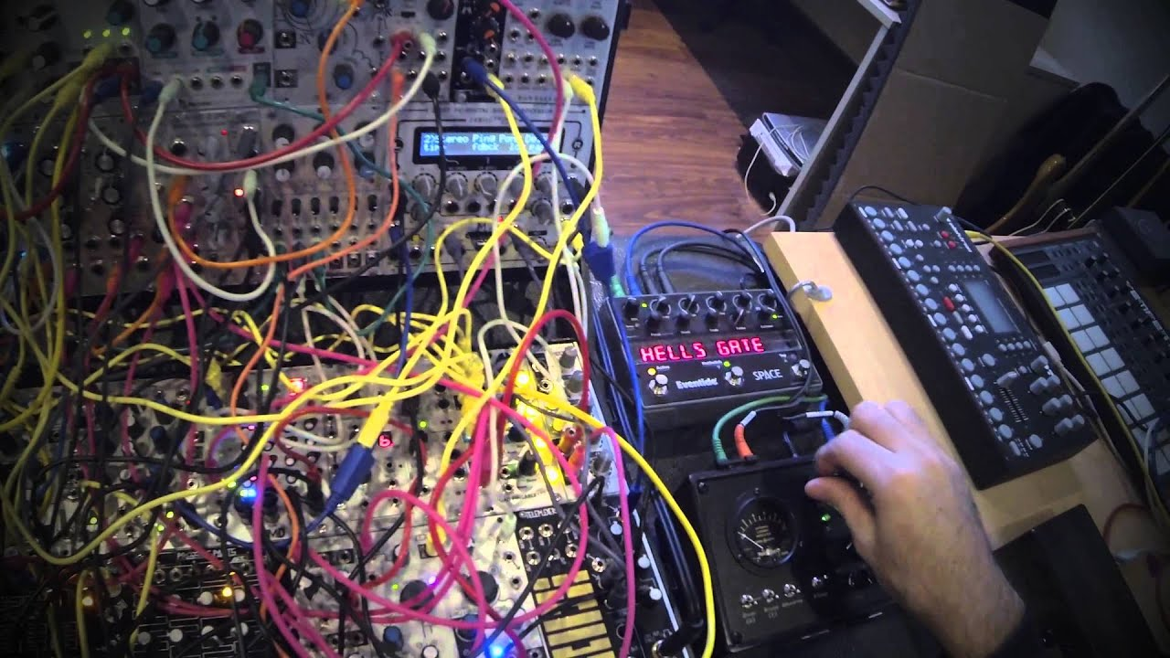 live modular synth jam ambient electronica youtube. Black Bedroom Furniture Sets. Home Design Ideas