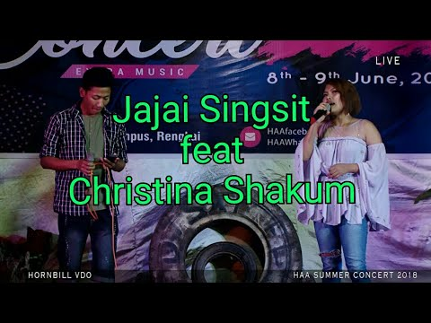 Don't cry Joni (cover) by Jajai Singsit & Christina Shakum | Hornbill Cable Network