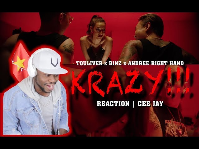 REACTION | CEE JAY | KRAZY TOULIVER x BINZ x ANDREE RIGHT HAND Ft EVY