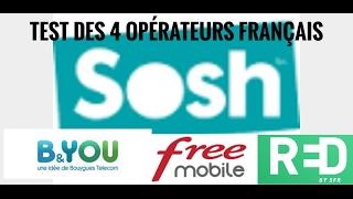 Test Des 4 Opérateurs Français