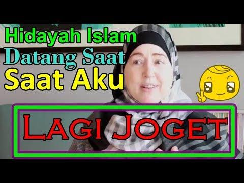 HIDAYAH DATANG PADAKU SAAT AKU JOGET DISKO  - JOANN MUALAF AMERIKA MASUK ISLAM