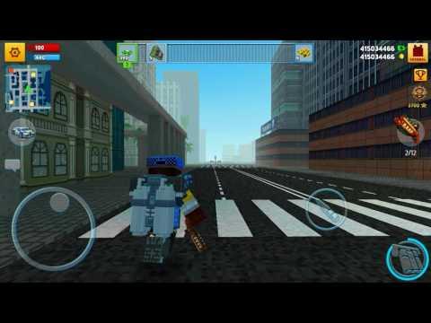 Railpistol vs hunter|block city wars