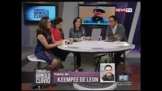 Manilyn Reynes, Tina Paner and Sheryl Cruz reunite on Tonight with Arnold Clavio