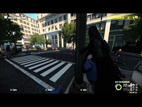Payday 2: Better Bots Mod gameplay