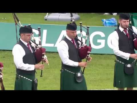 St Laurence O'Toole Pipe Band   Medley @ 2017 World Pipe Band Championships