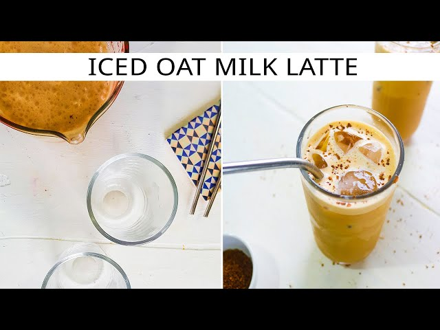 ICED OAT MILK LATTE