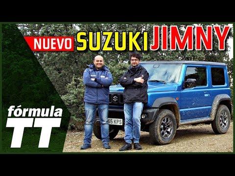 Suzuki Jimny 2019 | Prueba por campo y carretera