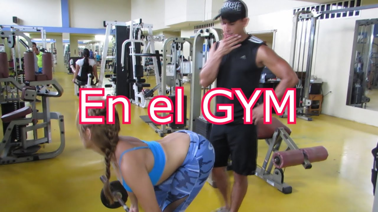 un d a en el gym daviss online youtube