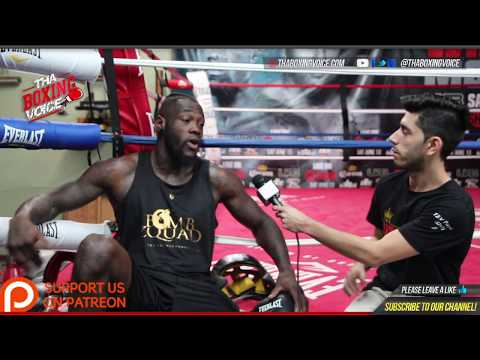 Deontay Wilder Camp Life: Exclusive 1-on-1 Interview Day 2, Race Relations, Joshua vs Takam, + More!