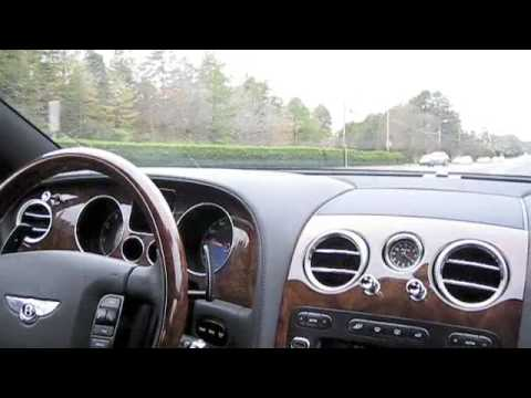 2007 Bentley Continental GT Start Up and City Driving  YouTube